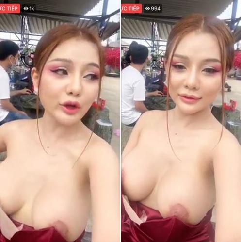 Clip: Mon2k (Trần Ngọc Ánh) livestream lộ hàng sau cuộc PTTM thất bại